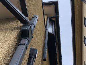 屋根外壁塗装工事ビフォー