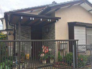 屋根・外壁塗装工事施工前